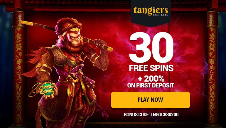 在Tangiers Casino申领超值巨额奖金礼包