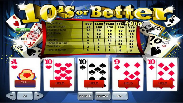在线视频扑克