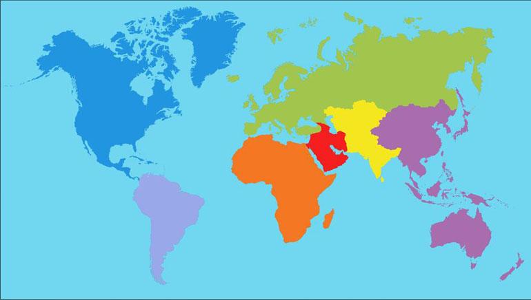选择你的国家
